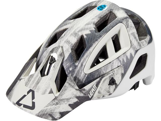 Leatt DBX 3.0 All Mountain Helmet, blanco/negro